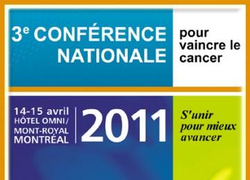 Troisième conférence nationale pour vaincre le cancer