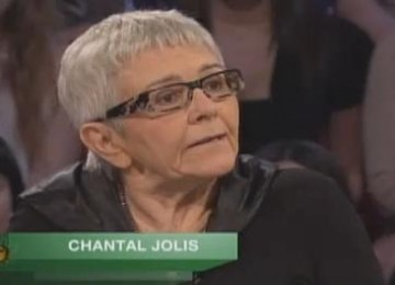 Chantal Jolis est décédée des suites de la maladie de Parkinson
