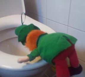 La Saint-Patrick, pas une raison pour se rendre malade!